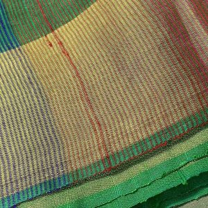 Soft silk saree in handwoven emerald green Screen reader support enabled. Soft silk saree in handwoven emerald green